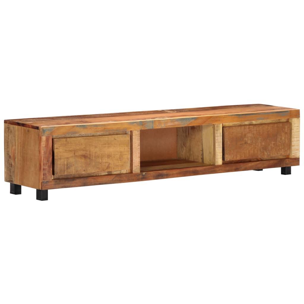 vidaXL TV skrinka z recyklovaného dreva 150x30x33 cm