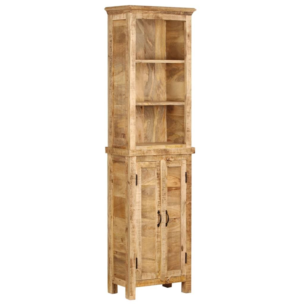 vidaXL Knižnica 50x30x180 cm masívne mangovníkové drevo