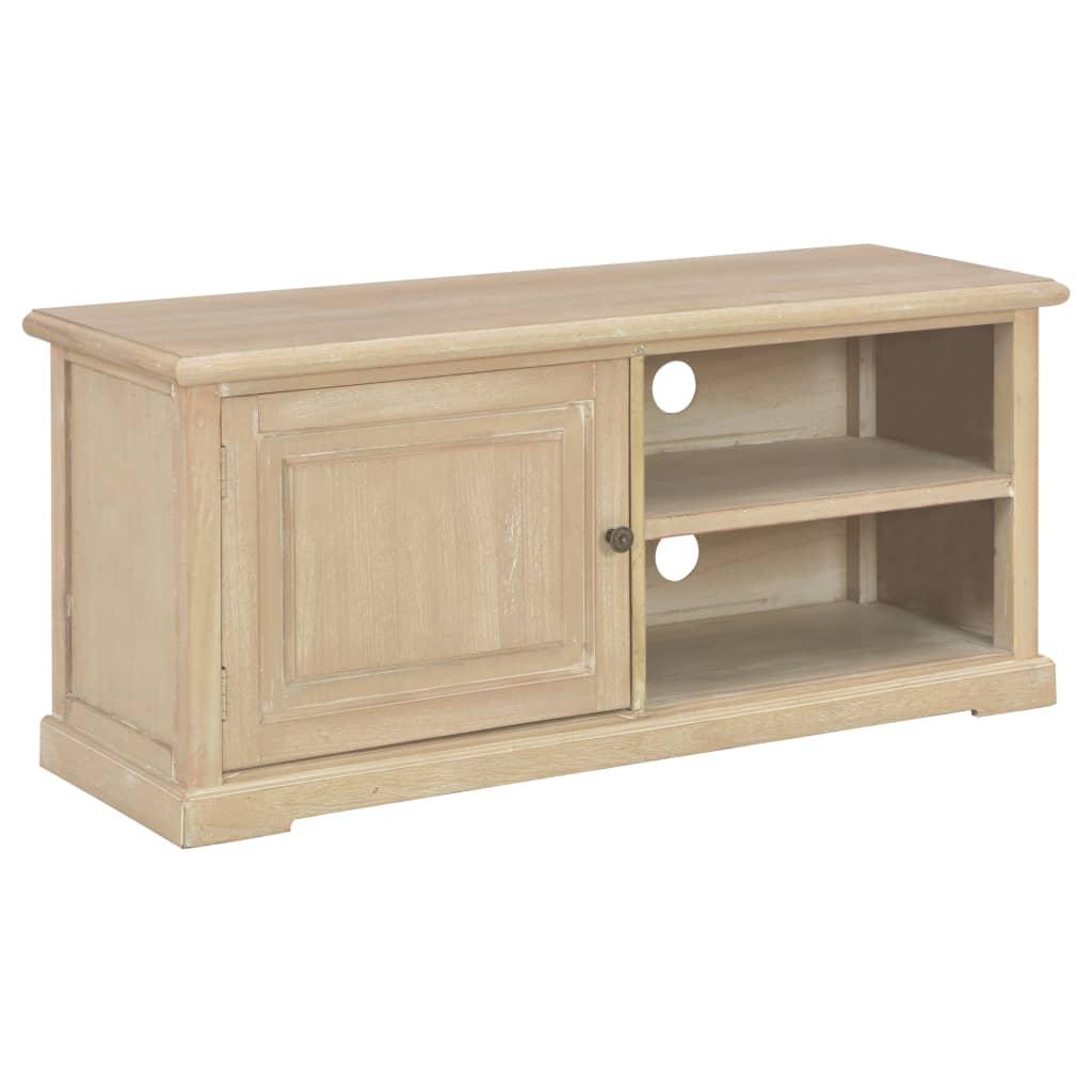 vidaXL TV stolík 90x30x40 cm drevený