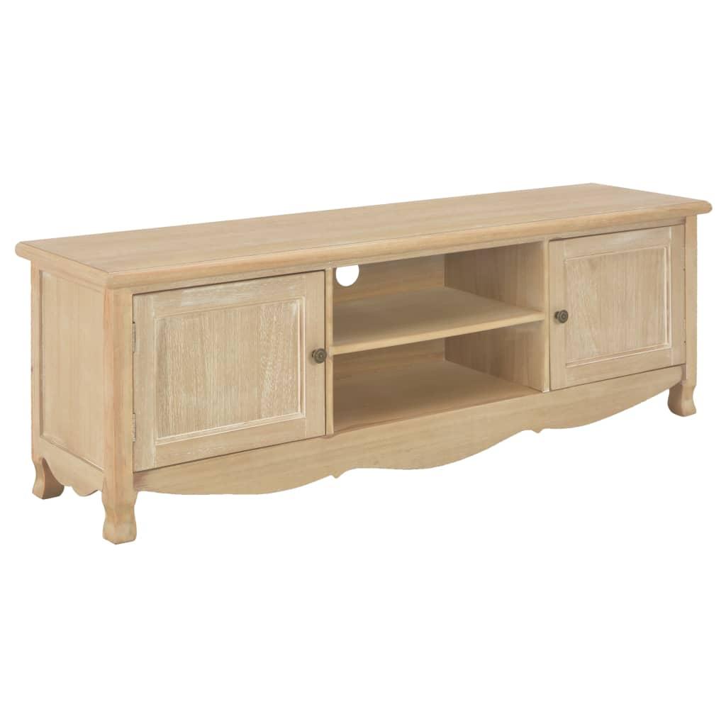 vidaXL TV stolík 120x30x40 cm drevený