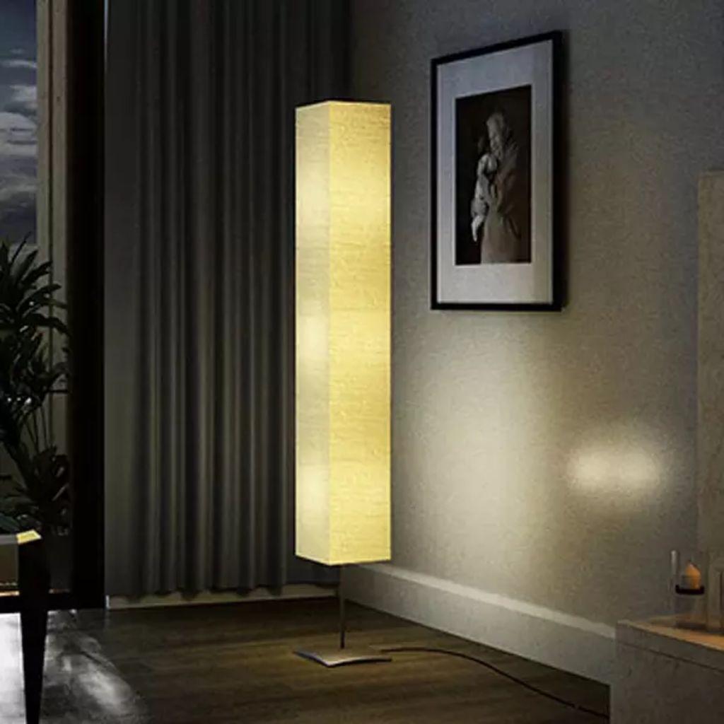 Stojanová oceľová lampa 170cm.