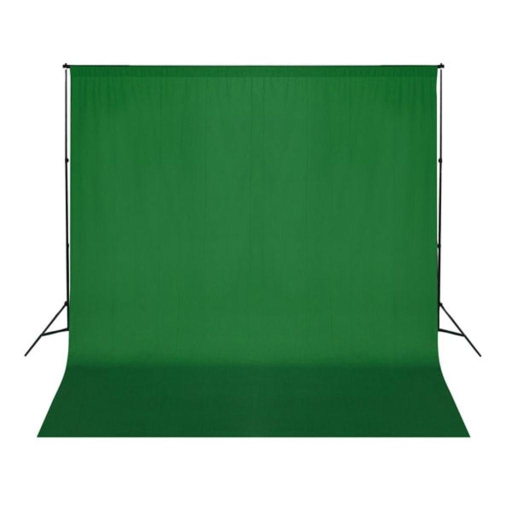 Zelené fotopozadie 300 x 300 cm. Kľúčovanie