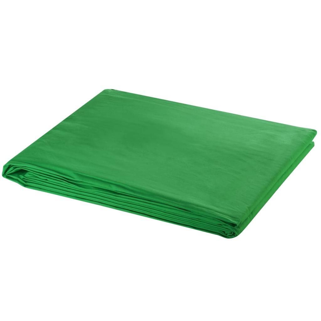 Zelené fotopozadie 500 x 300 cm. Kľúčovanie