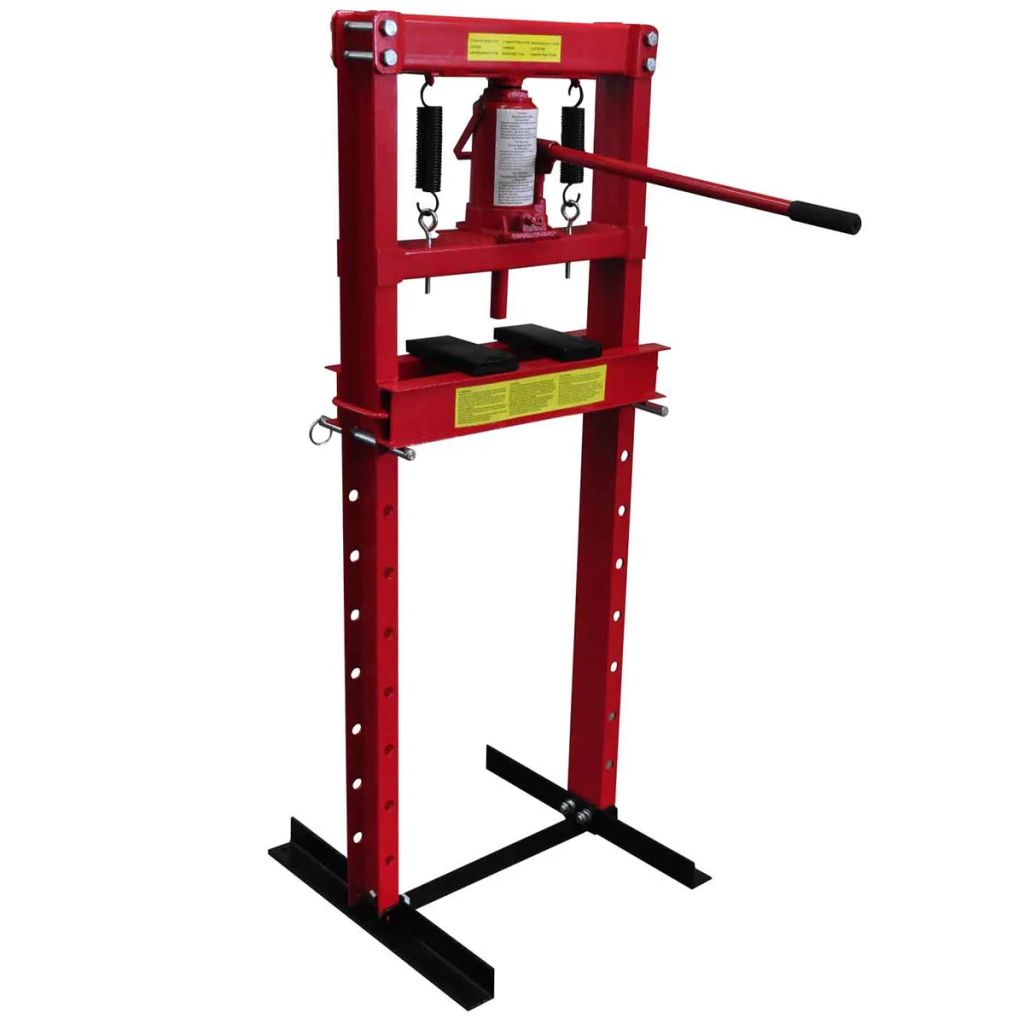 vidaXL Hydraulický podlahový lis 12 ton, vysoký výkon