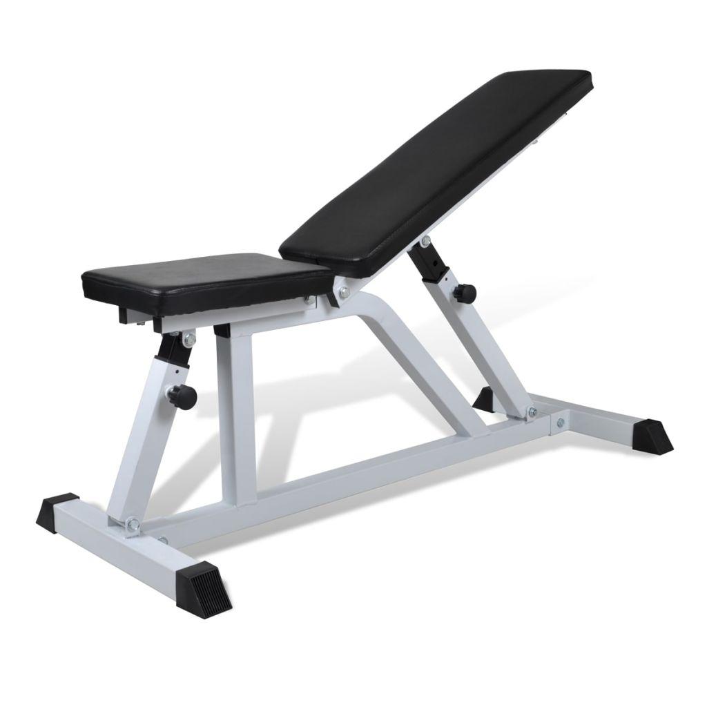 Posilňovacia lavica na cvičenie s činkami