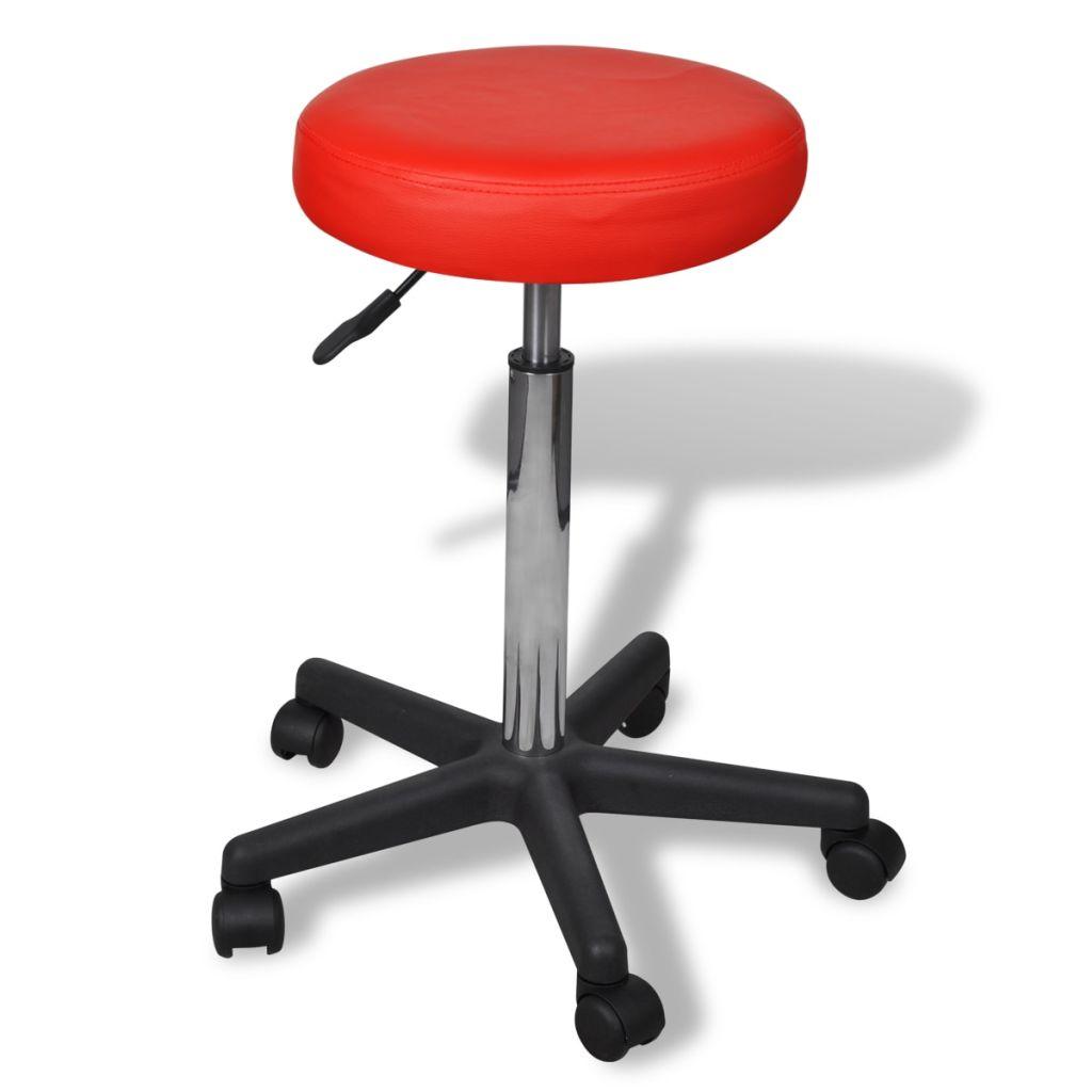 Kancelárska stolička červená
