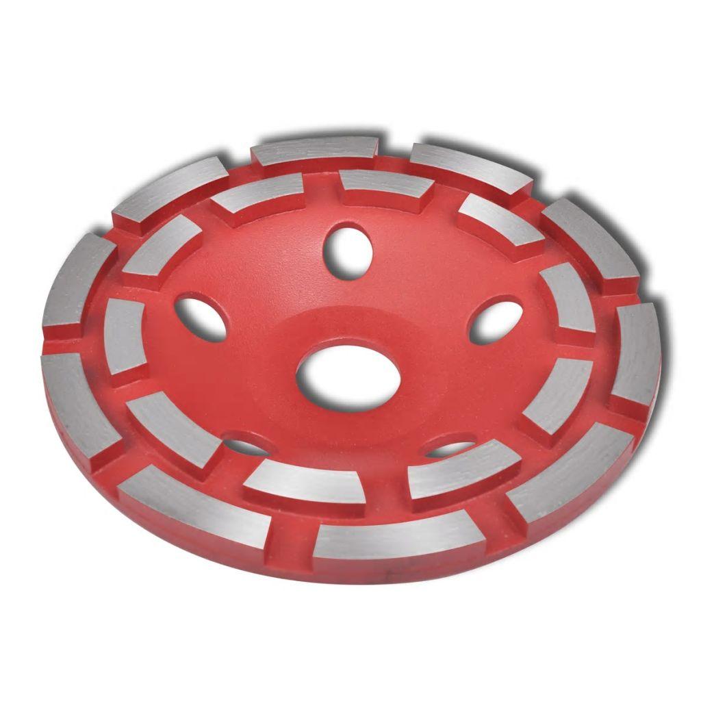 Diamantový brúsny kotúč na betón dvojradový 180 mm
