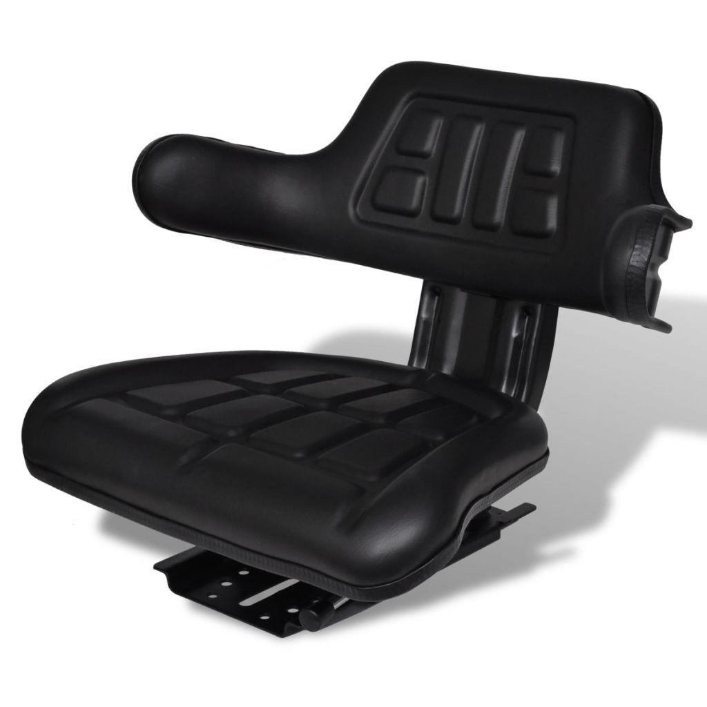 vidaXL Traktorové sedadlo s operadlom