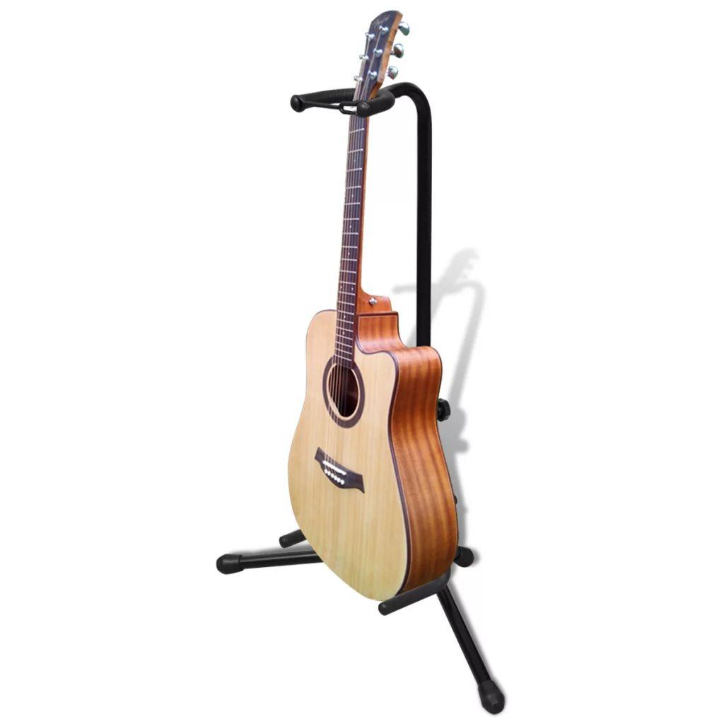 70033 Nastaviteľný stojan na jednu gitaru, skladateľný