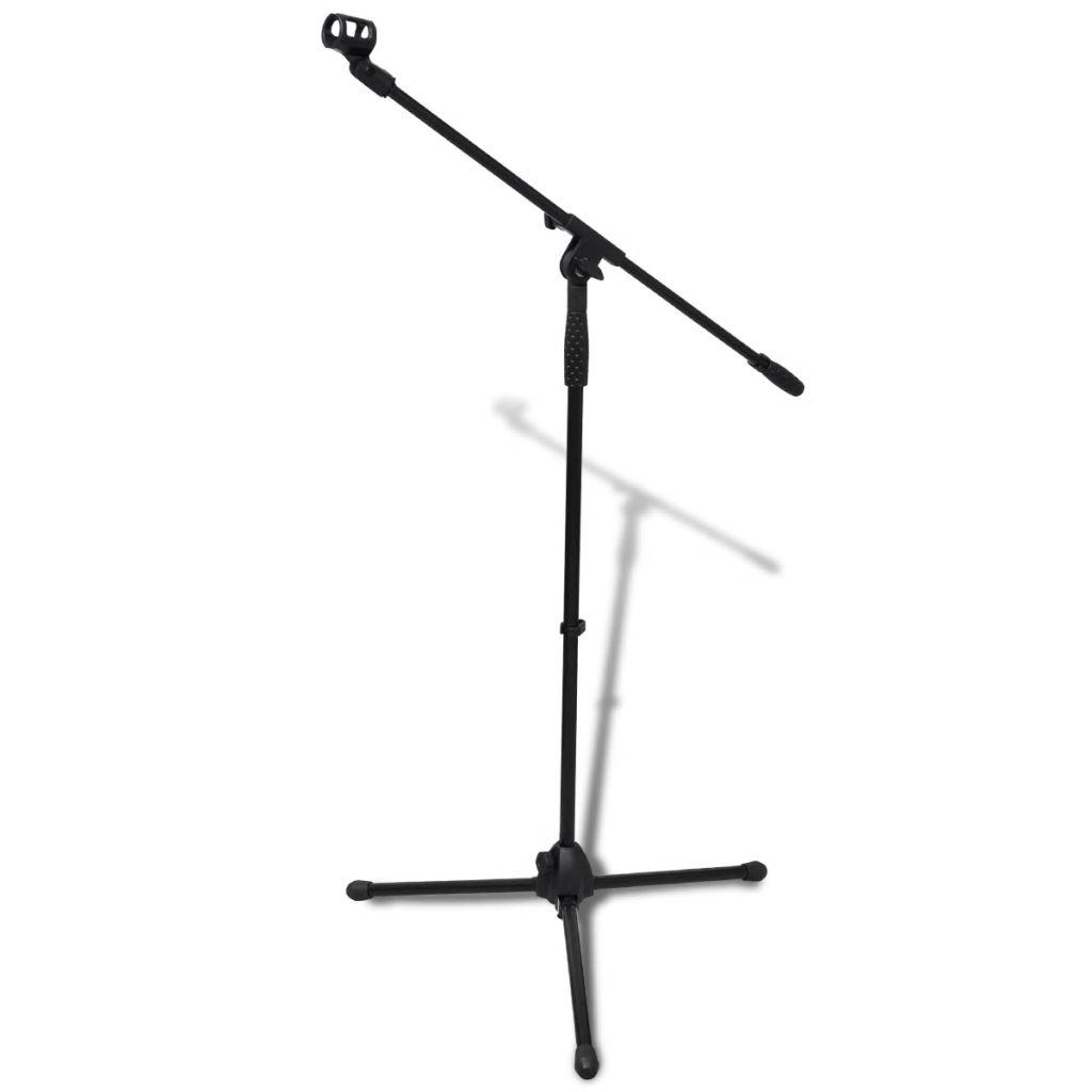vidaXL Nastaviteľný stojan na mikrofón