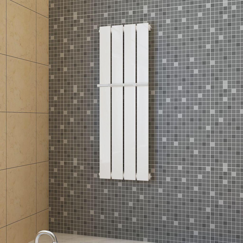 Držiak uterákov 311mm + biely vykurovací panel 311mm x 900mm
