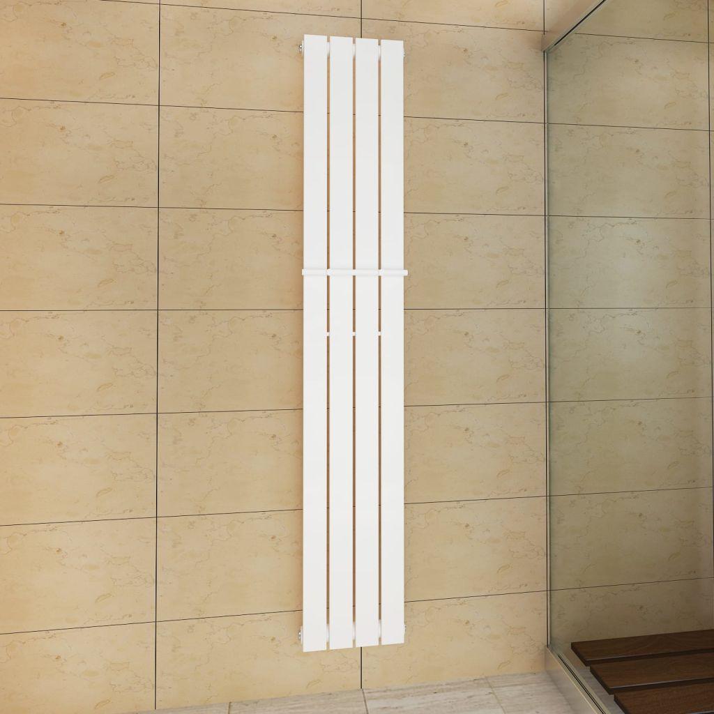 Biely vykurovací radiátor 311 x 1800 mm s vešiakom na uteráky 311 mm