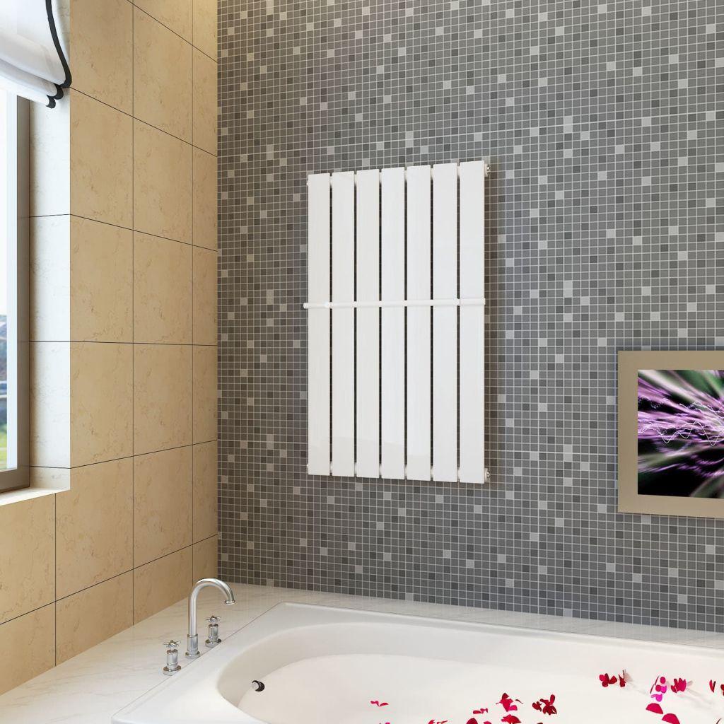 Bierly vykurovací panelový regál na uteráky 542mm + vykurovací panel 542 mm x 900 mm (140636 + 140625)