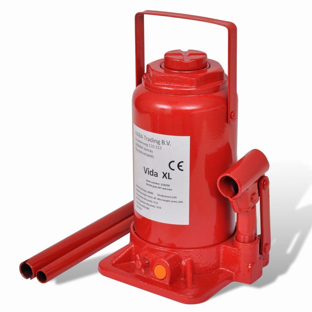 Hydraulický červený zdvihák 20t