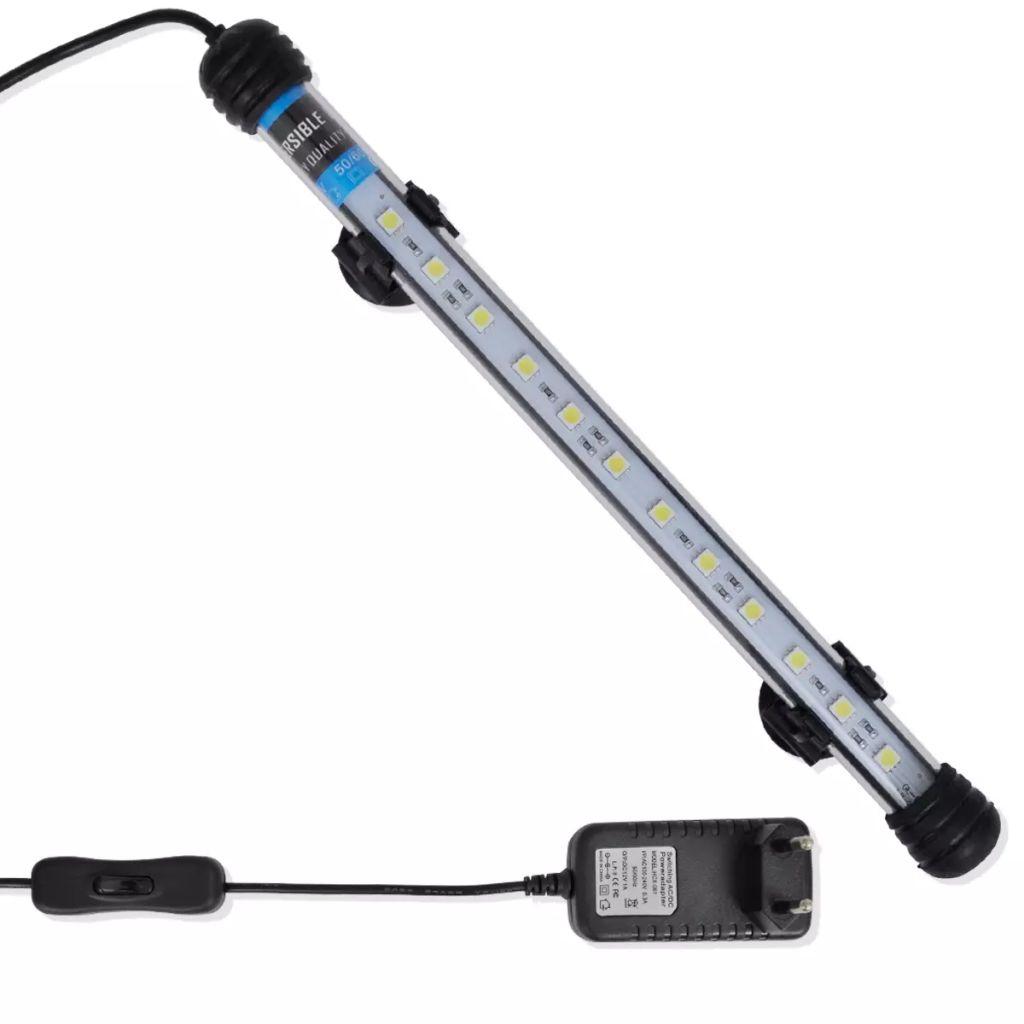 LED lampa pre akváriá, 28 cm Biela farba