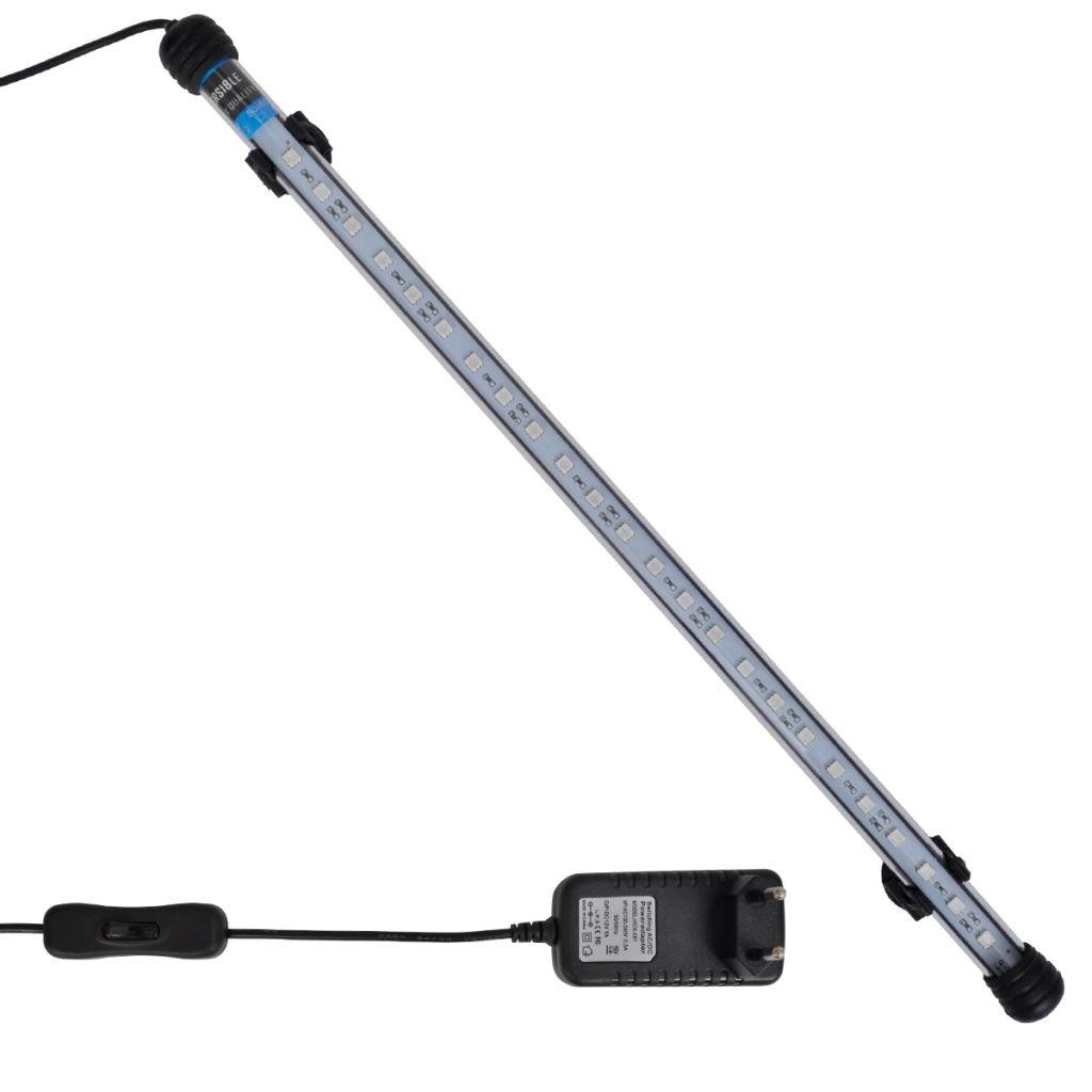 LED lampa do akvária s modrým svetlom 48 cm