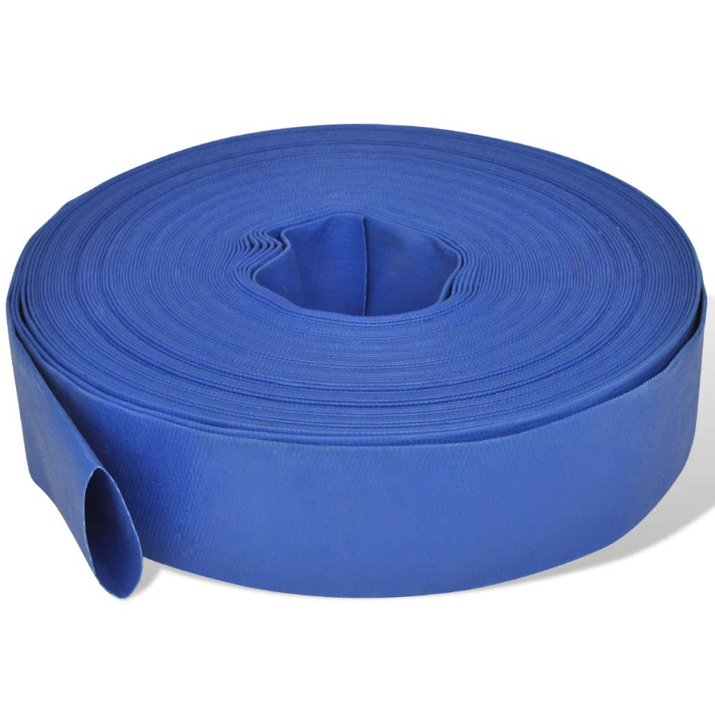 Plochá hadica na vodu z PVC 50 m 2