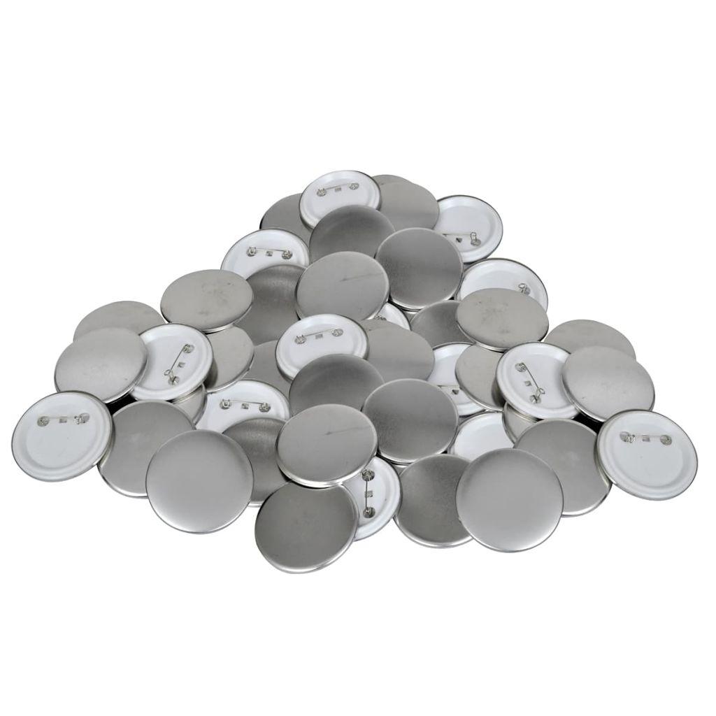Komponenty pre odznaky so špendlíkom 500 setov / 25 mm