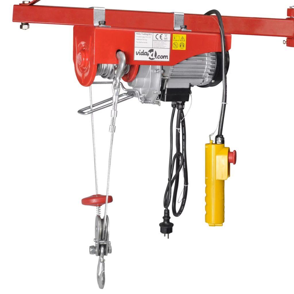 Elektrický naviják 1000 W, 300/600 kg
