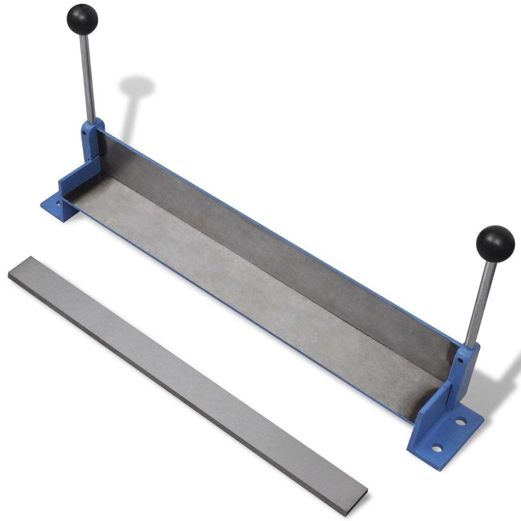 Ručný stroj na prehýbanie s oceľovými plátmi 450 mm