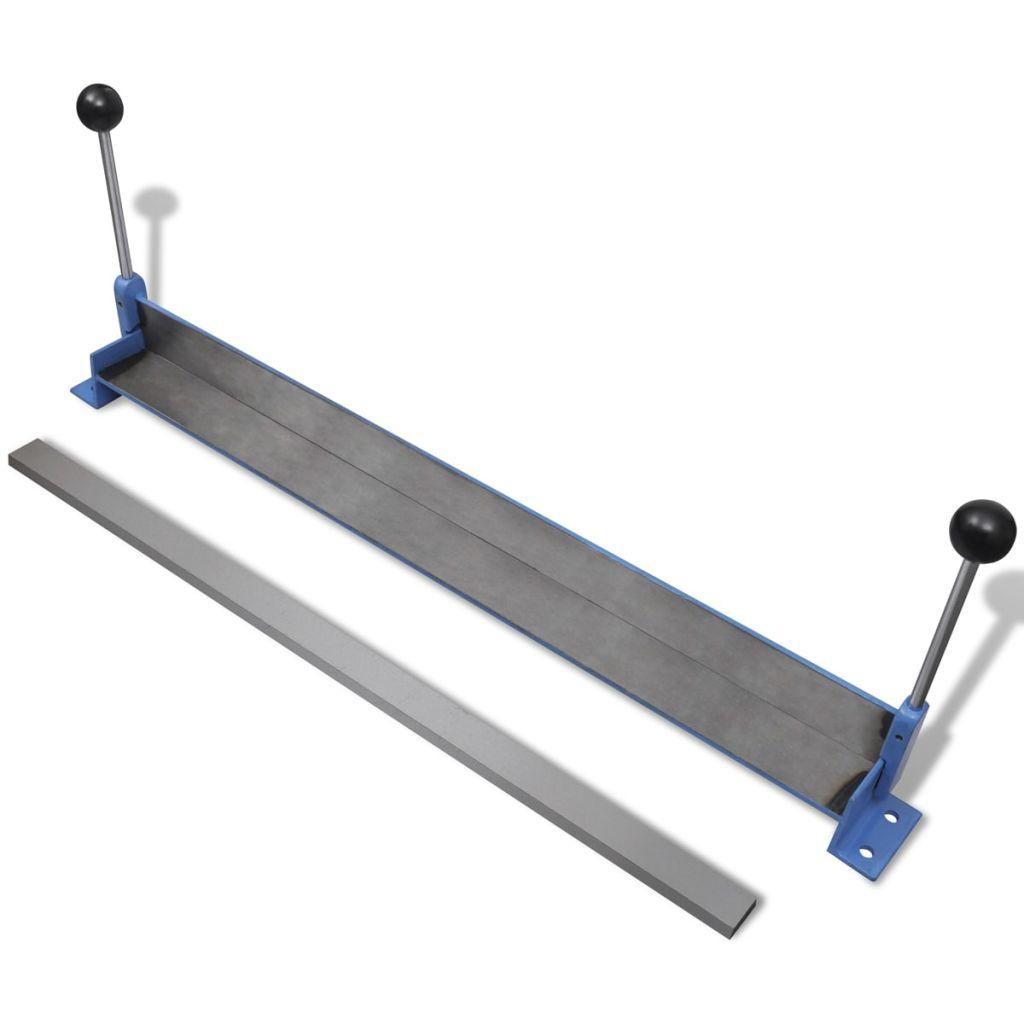 Ručná ohýbačka oceľových plechov 760 mm