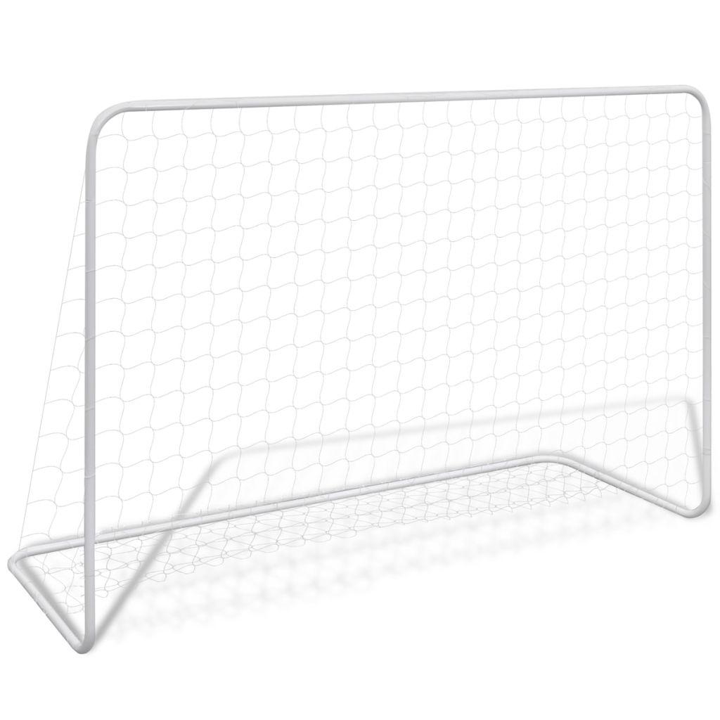 Oceľová futbalová bránka, 182 x 61 x 122 cm