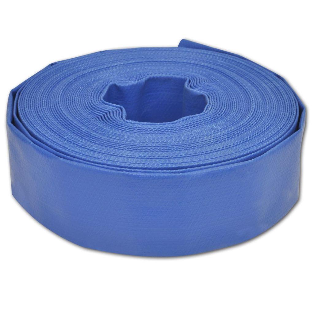 Plochá hadica na vodu z PVC 25 m 2