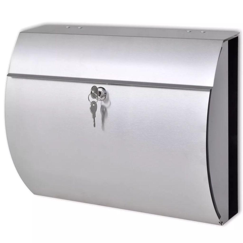 Poštová schránka z nerezovej ocele