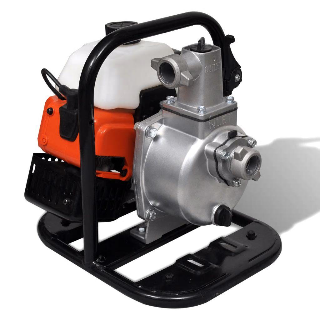 Vodné čerpadlo s dvojtaktným benzínovým motorom 1,45 kW 0,95 L