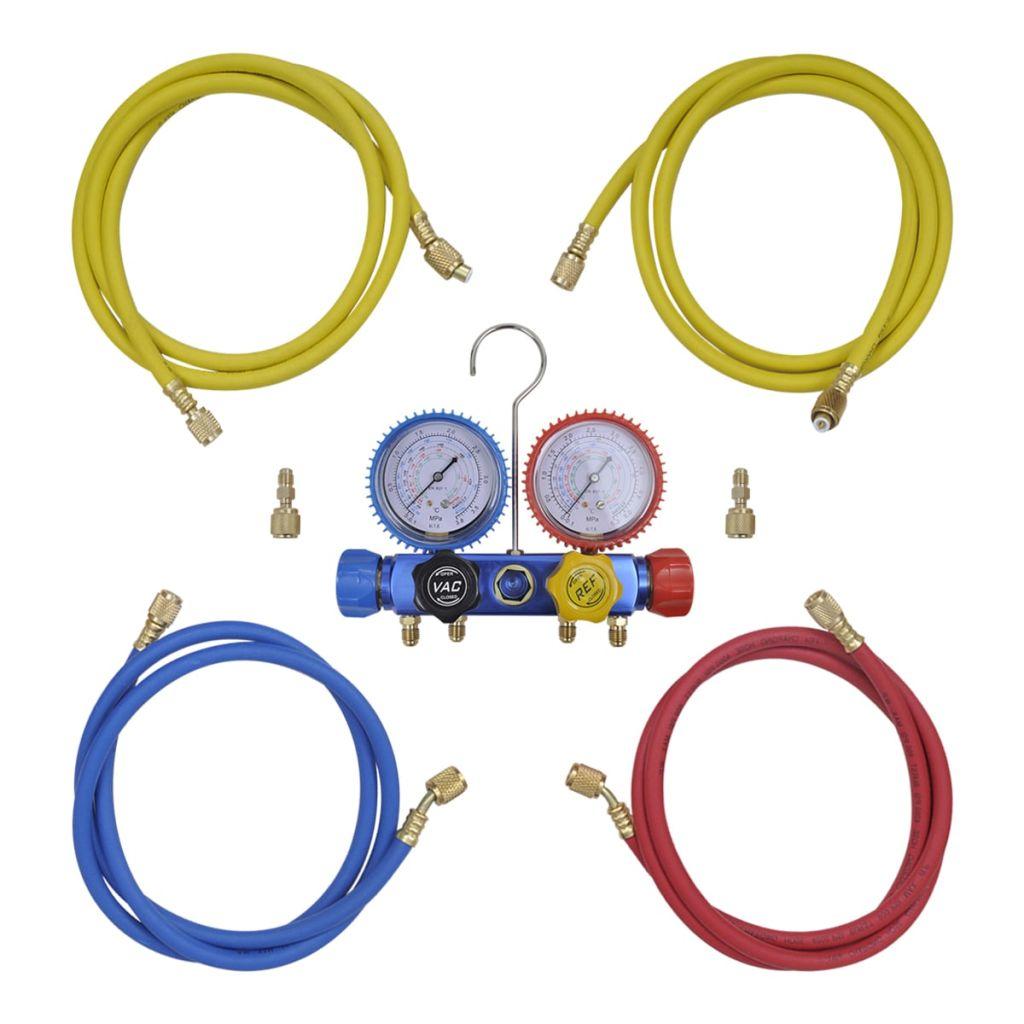 4-stupňový rozdeľovač potrubí