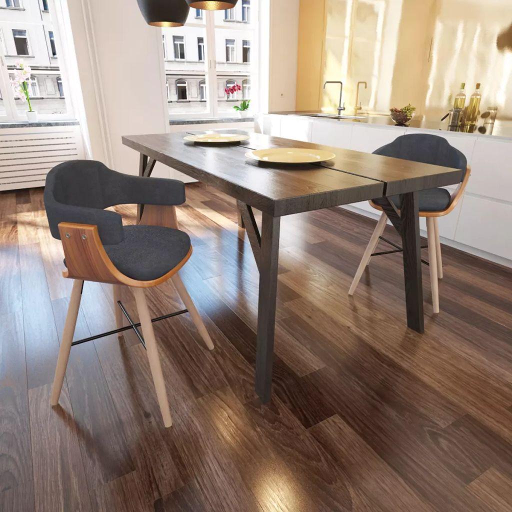 61c6fe4252043 2 ks jedálenská stolička z ohýbaného dreva s látkovým poťahom