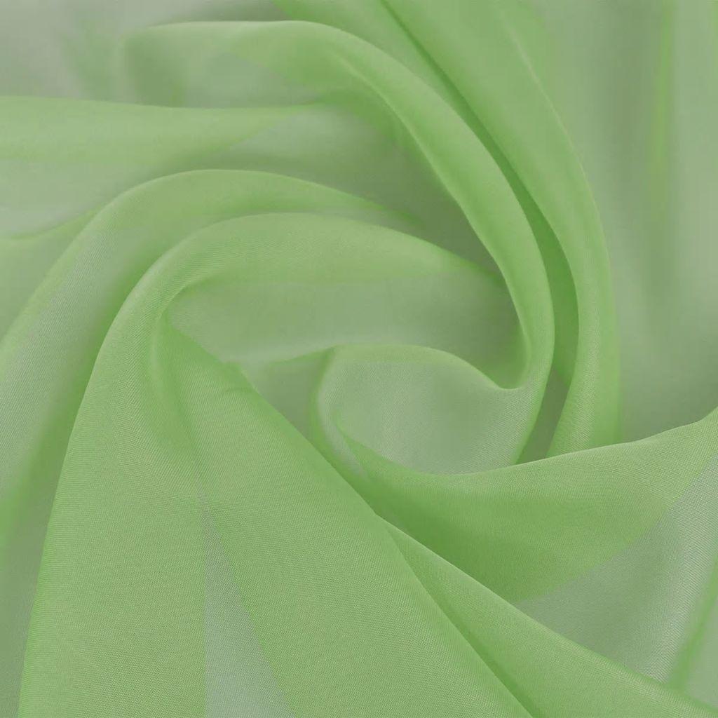 Textília voál, 1.45 x 20 m, zelená