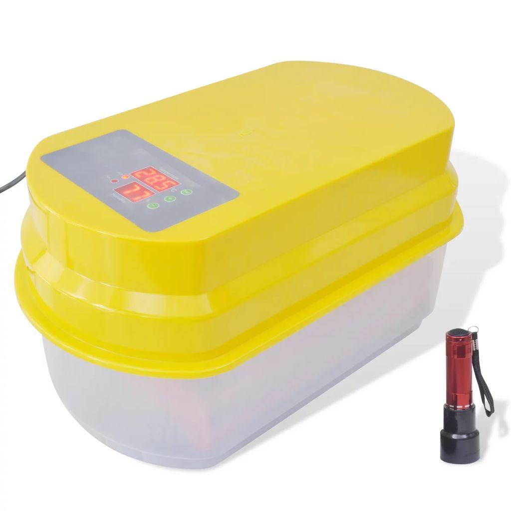 Automatický inkubátor na 15 slepačích vaec