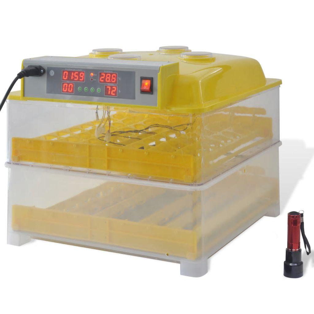 Automatický inkubátor na 96 slepačích vajec