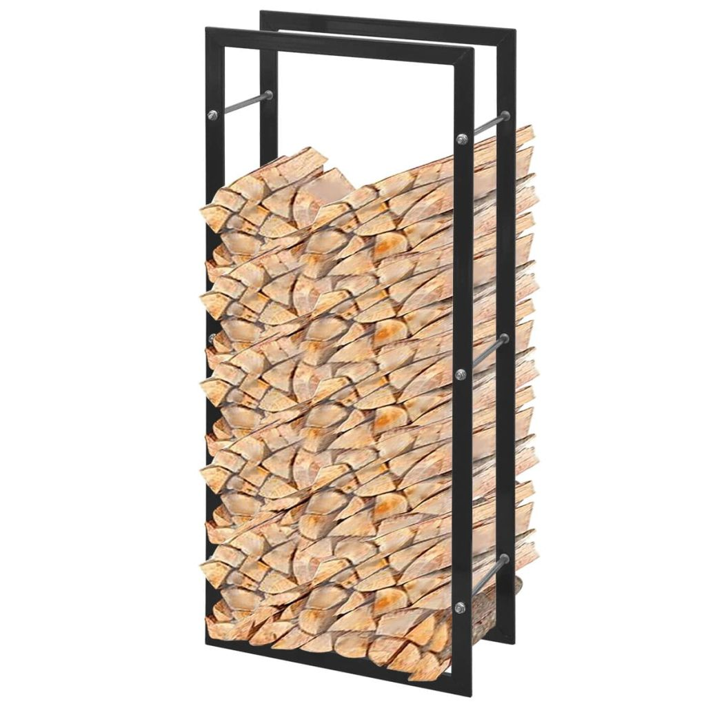 Stojan na palivové drevo v tvare obdĺžnika so základňou 100 cm