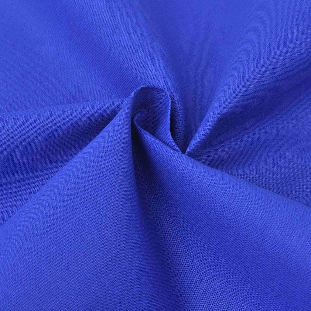 vidaXL Bavlnená látka, 1.45x20 m, modrá