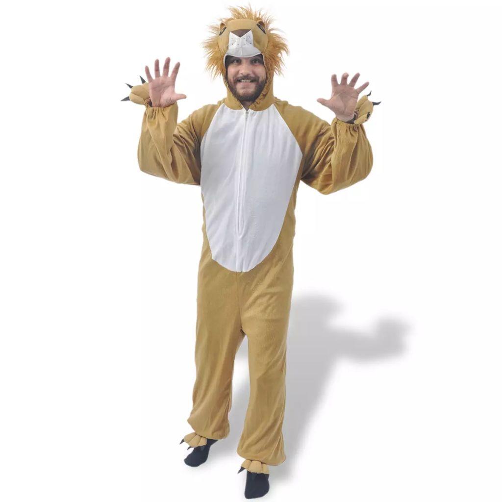 Kostým na karneval - lev, veľkosť XL-XXL vidaXL