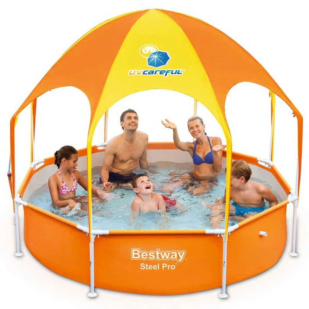 Bazén Bestway Splash-in-Shade, 244 x 51cm, 56432