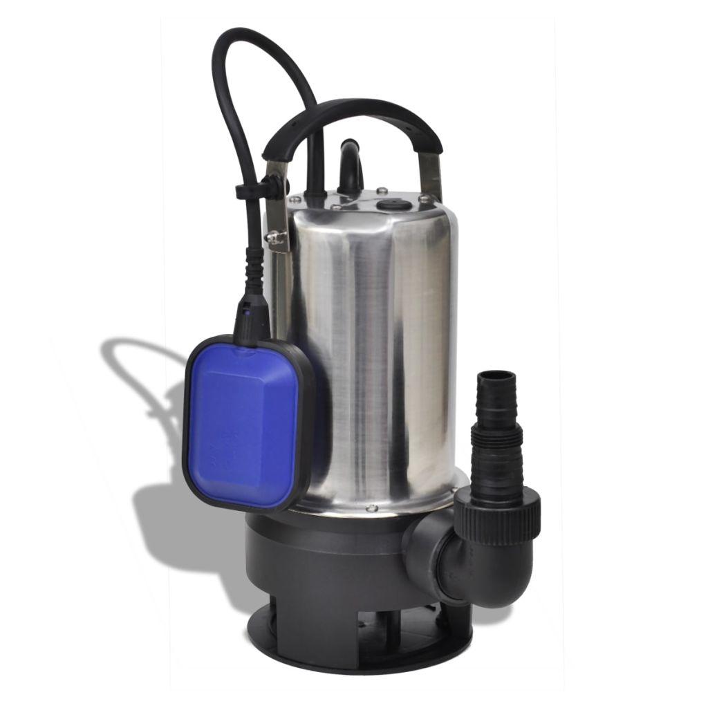 vidaXL Ponorné čerpadlo na znečistenú vodu, 1100 W 16500 l/hod