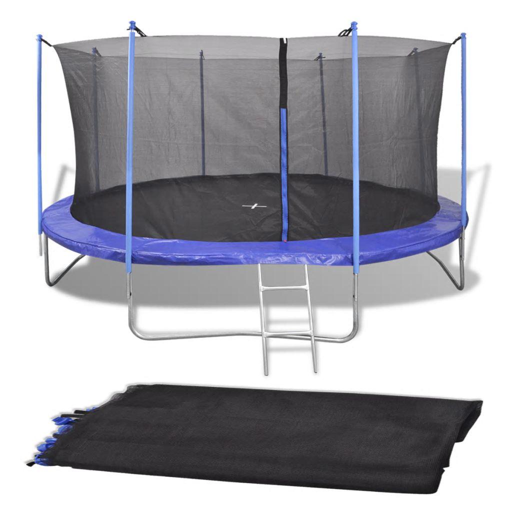 vidaXL Bezpečnostná sieť pre 4.57 m kruhovú trampolínu