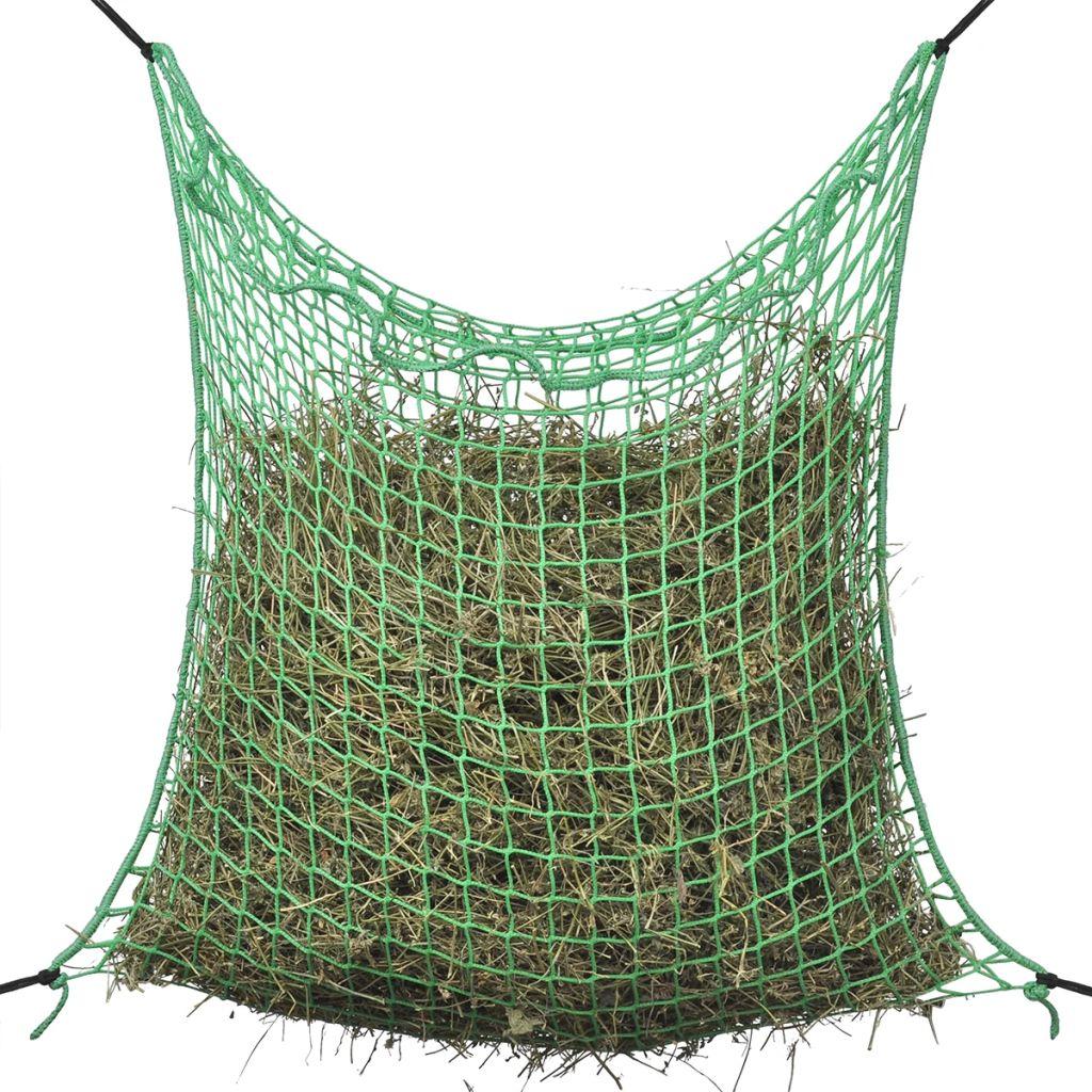 vidaXL Štvorcová sieť na uloženie sena, 0.9x3 m, PP