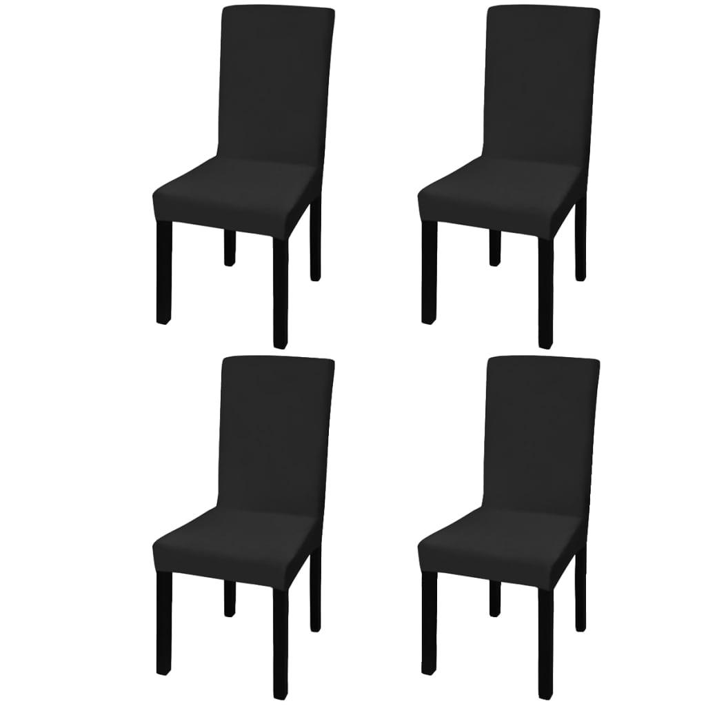 bc06b44429d7 vidaXL Rovný naťahovací návlek na stoličku