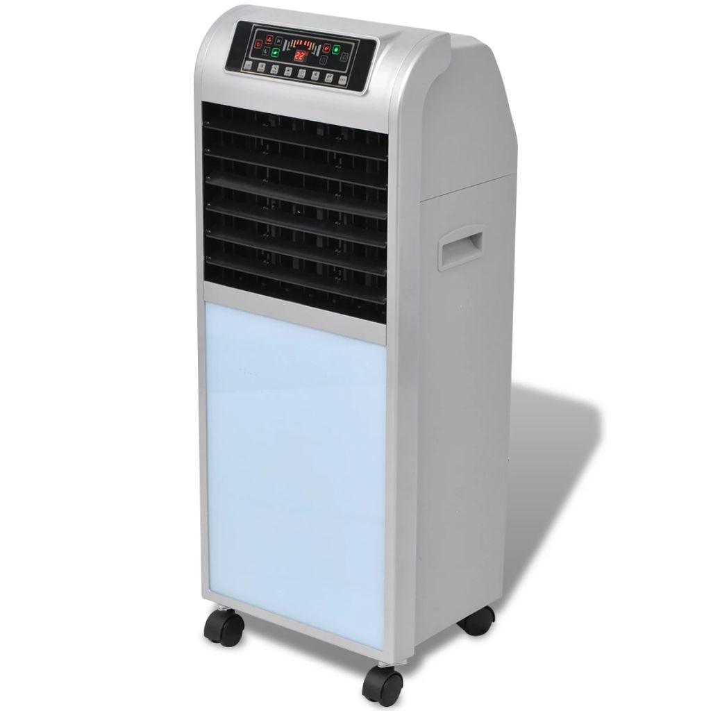 vidaXL Ochladzovač vzduchu 120 W, 8 l, 385 m³/h, 37,5x35x94,5 cm