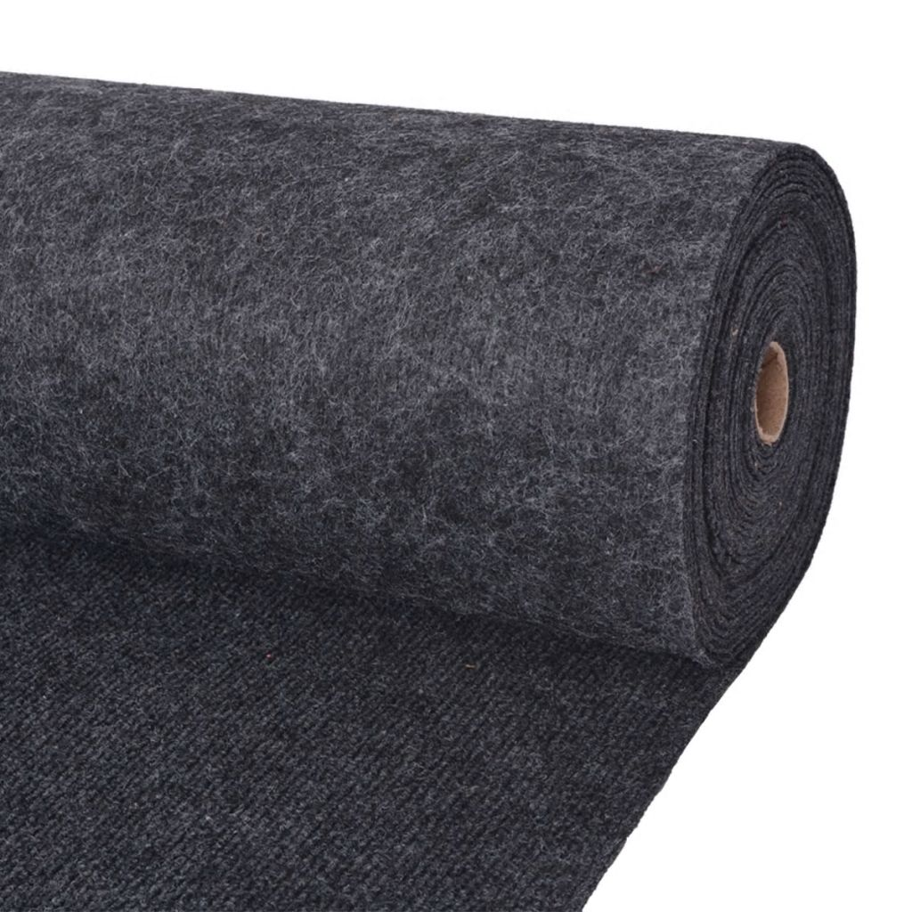 vidaXL Objektový koberec, 2x15 m, antracitový