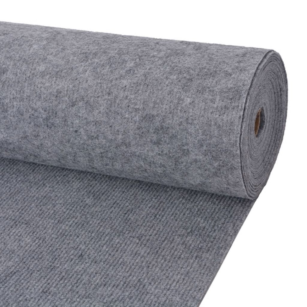 vidaXL Objektový koberec, 2x10 m, sivý