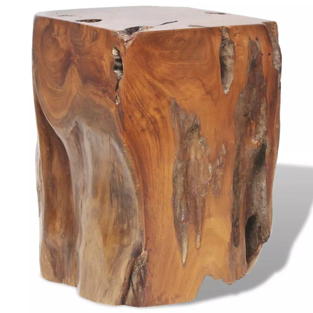 vidaXL Sedadlo z masívneho teakového dreva, 30x30x40 cm