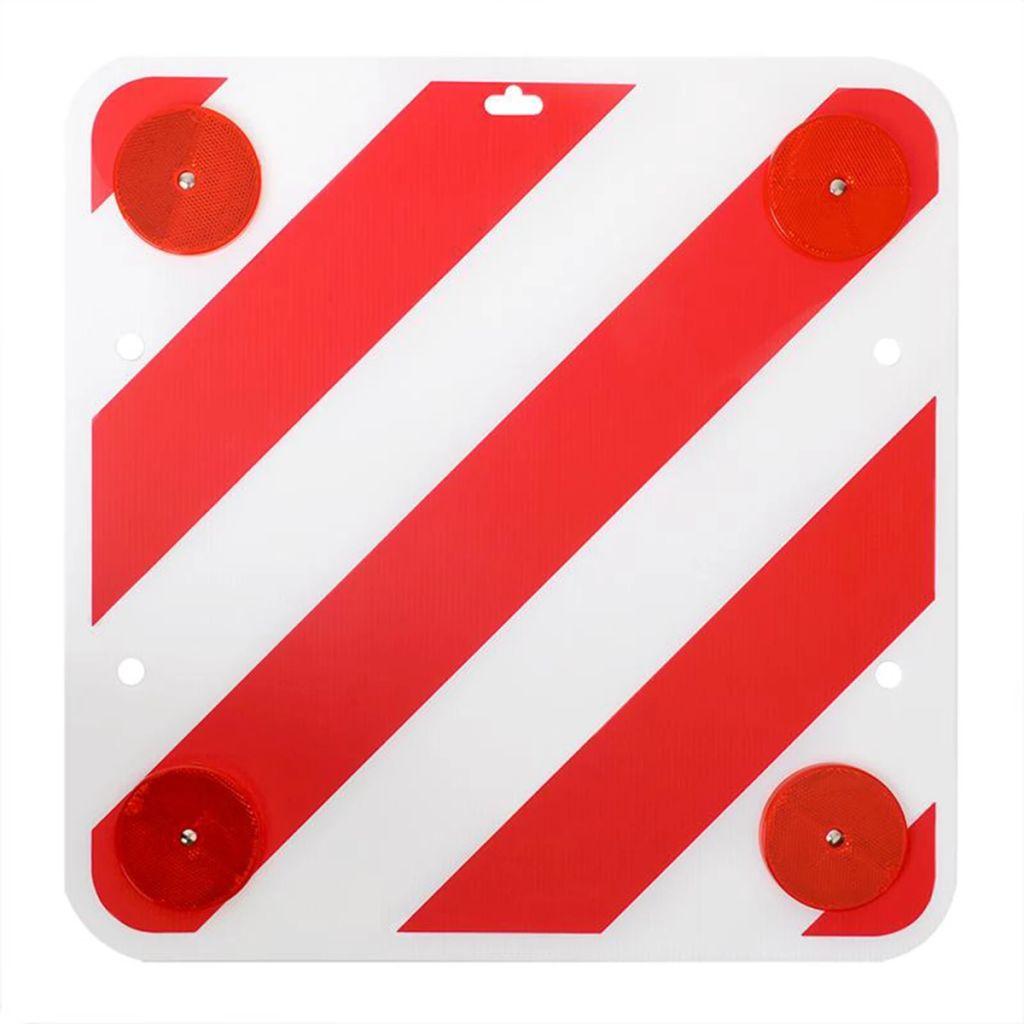 ProPlus zadné výstražné znamenie plastové 50 x 50 cm s odrazkami