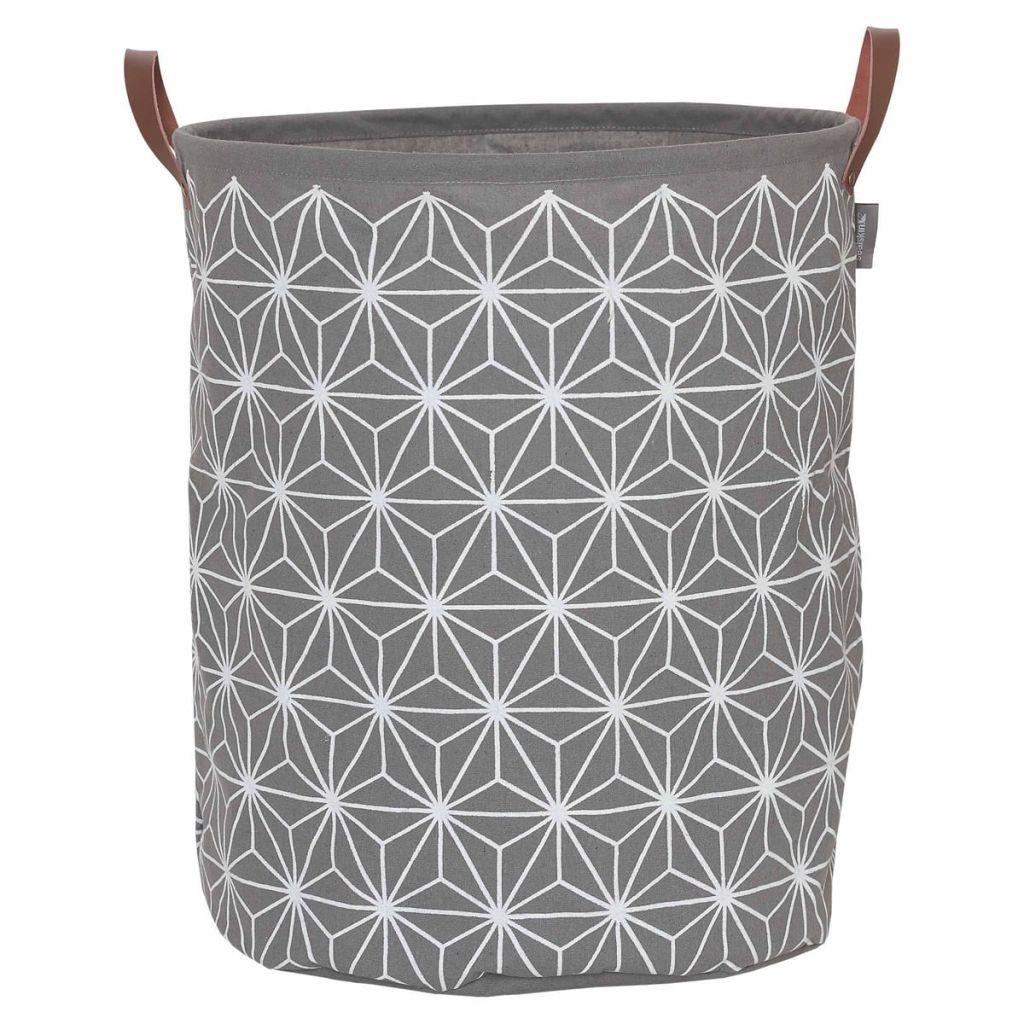 Sealskin Kôš na prádlo Triangles sivý 60 l 361882012