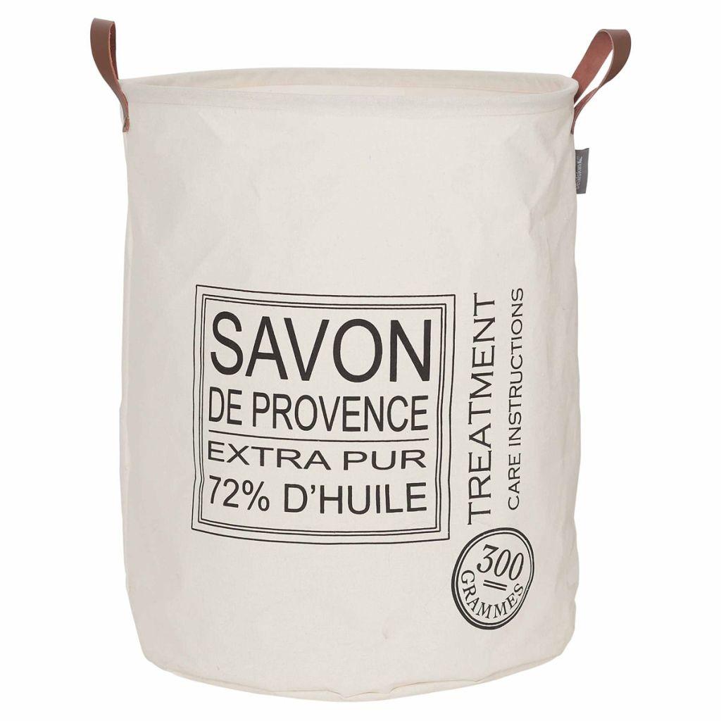 Sealskin Kôš na prádlo Savon de Provence krémový 60 l 361752065