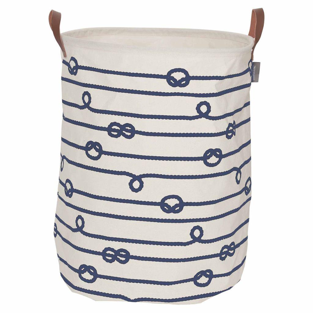 Sealskin Kôš na prádlo Rope krémový 60 l 362282022